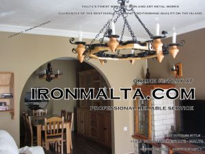 malta wrought iron metal wood chandeliers lights ideally for house of characters,  farmhouses and town houses 1 traditional